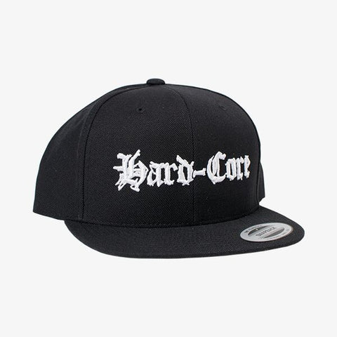 Hard-Core Snapback Hat | Merch Connection - Metal, hardcore, punk, pop punk, rock, indie, and alternative band merchandise