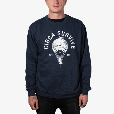 Circa Survive - Varsity Crewneck | Merch Connection - Metal, hardcore, punk, pop punk, rock, indie, and alternative band merchandise