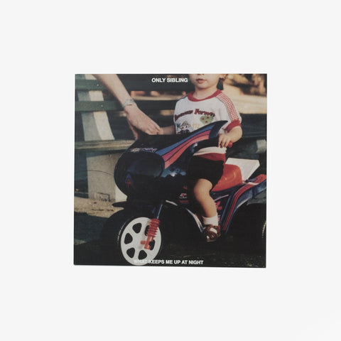 Only Sibling - What Keeps Me Up At Night Vinyl LP | Merch Connection - Metal, hardcore, punk, pop punk, rock, indie, and alternative band merchandise