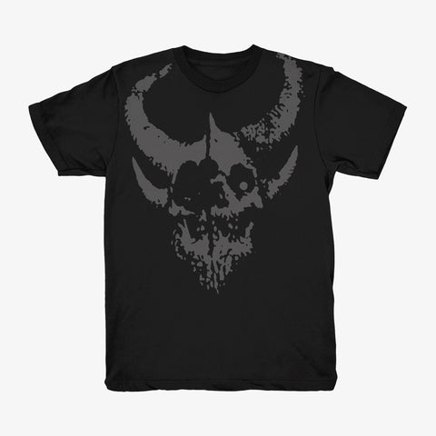 Demon Hunter - Relic Shirt (Grey on Black) | Merch Connection - Metal, hardcore, punk, pop punk, rock, indie, and alternative band merchandise