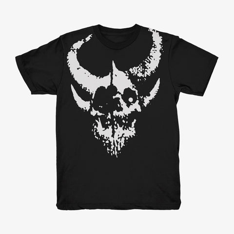 Demon Hunter - Relic Shirt (White on Black) | Merch Connection - Metal, hardcore, punk, pop punk, rock, indie, and alternative band merchandise