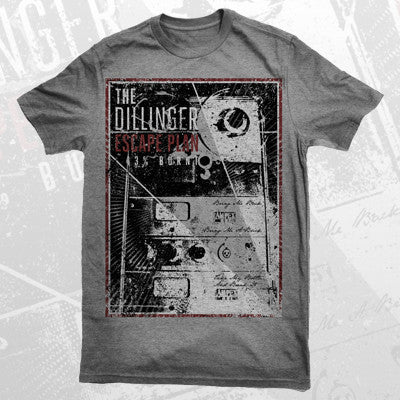 Dillinger Escape Plan - Dillinger Escape Plan - 43% Burnt Shirt (Grey) - 2