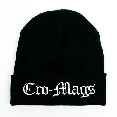 Cro-Mags - Logo Beanie | Merch Connection - Metal, hardcore, punk, pop punk, rock, indie, and alternative band merchandise