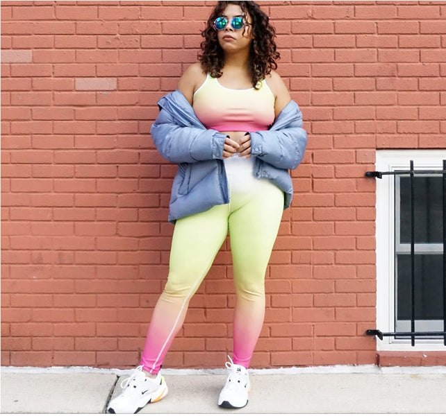 How To Choose The Right Size For Your Sports Bra & Leggings