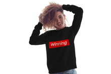 "Load image into Gallery viewer, ""Winning"" Sweatshirt - BLACK"