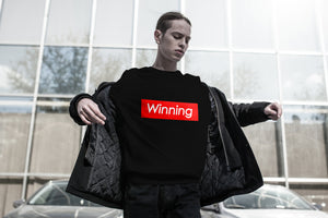 """Winning"" Sweatshirt - BLACK"