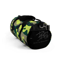 Load image into Gallery viewer, Neon Camo Duffel Bag