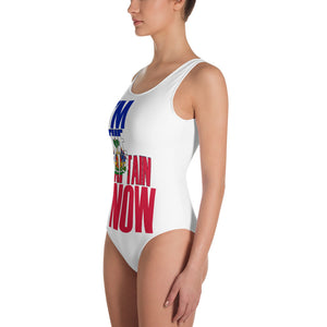 """I'm The Captain Now"" One-Piece Swimsuit"