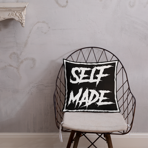Self Made Pillow - BLACK