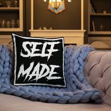 Load image into Gallery viewer, Self Made Pillow - BLACK