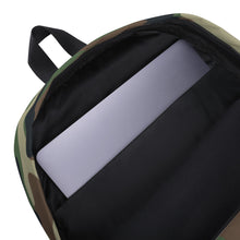 Load image into Gallery viewer, Camo Backpack