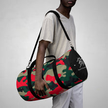 Load image into Gallery viewer, Red Camo Duffel Bag