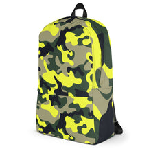 Load image into Gallery viewer, Neon Camo Backpack