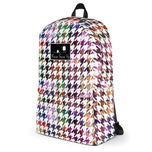 Never Grow Up Galaga Backpack - Multi-color