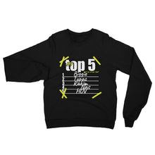 Load image into Gallery viewer, Customizable TOP 5 Crewneck