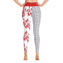 Load image into Gallery viewer, I Slay and I DJ Leggings - RED