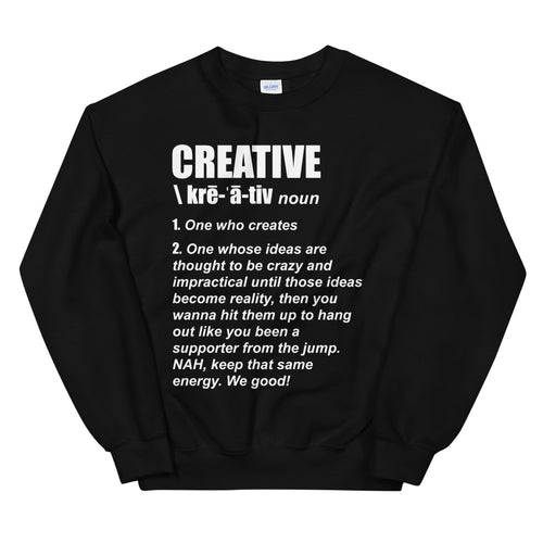 Creative Definition Sweatshirt