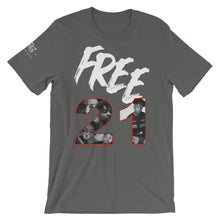 Load image into Gallery viewer, #Free21 Tee - GRAY