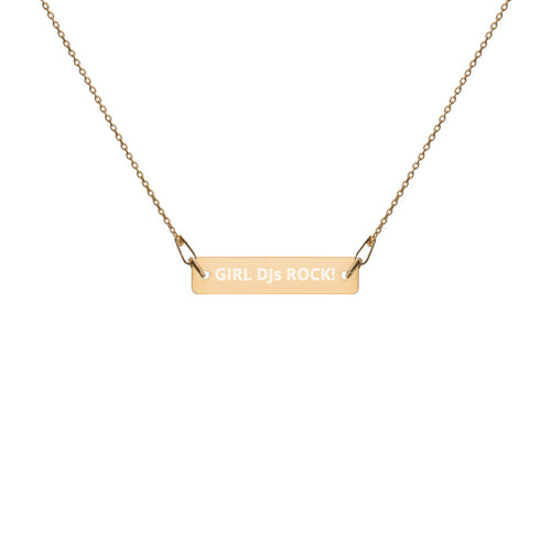 Girl DJs Rock! Necklace