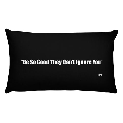 Be So Good Throw Pillow