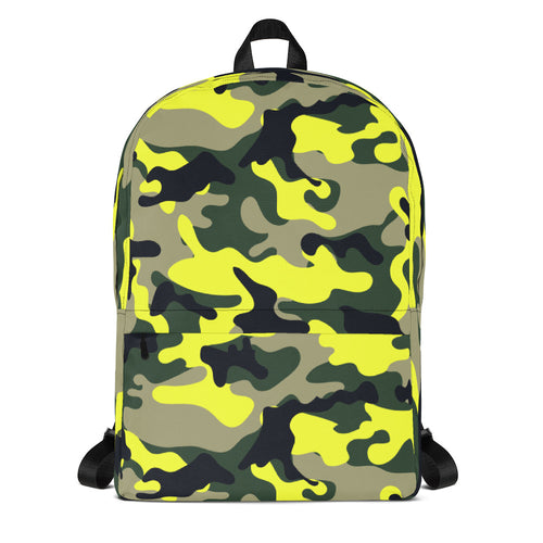 Neon Camo Backpack