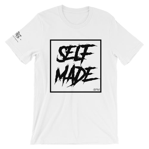Self Made Tee - WHITE