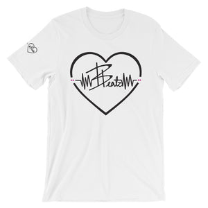 Beatz Heart Tee - White