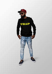 TRAP Sweatshirt - Electric Yellow