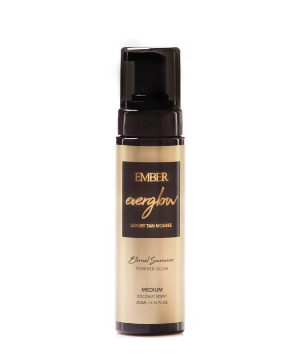 Everglow Golden Self Tanning Mousse 200ml (Medium)