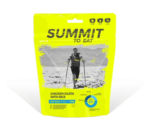 Summit To Eat - Kana Fajita ja riisiä