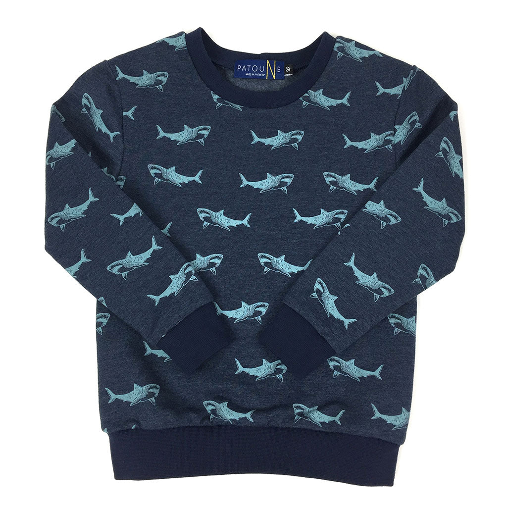 Sweater Patoune Shark