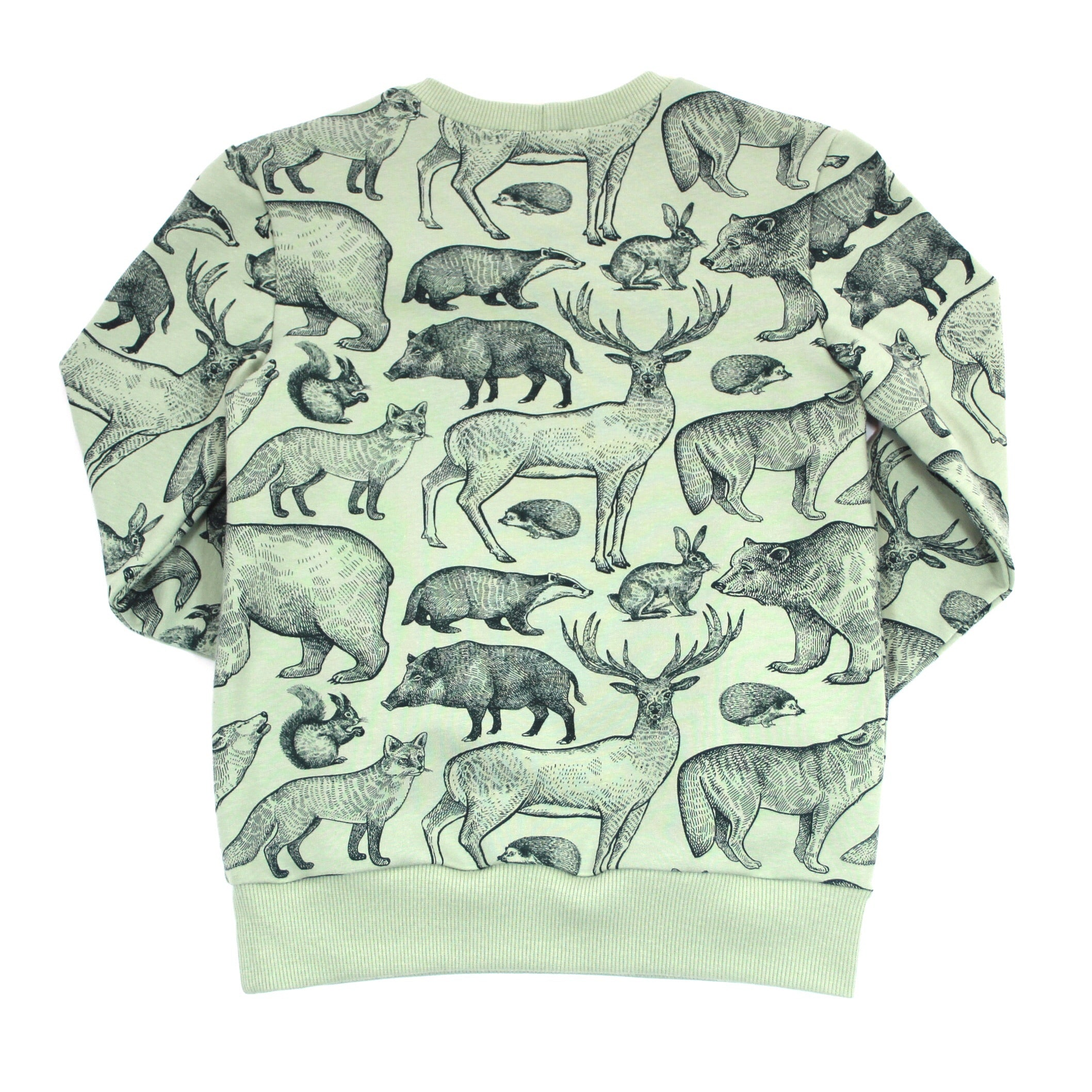 Sweater Patoune Forest Animals