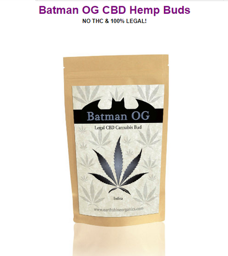 Batman CBD Hemp Buds - 4 Grams - 1/8 oz