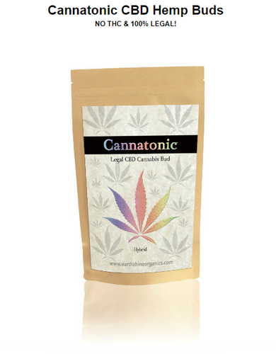 Cannatonic CBD Hemp Buds - 4Gram - 1/8 oz