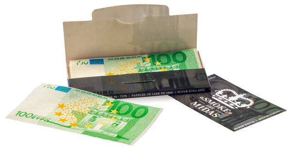 Papel de liar premium de billetes de 100€ (Pack de 3)