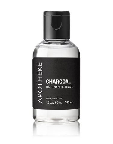 Apotheke Charcoal Hand Sanitizer Gel