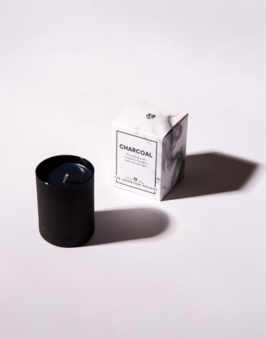 Charcoal Votive Candle and Soap Bundle
