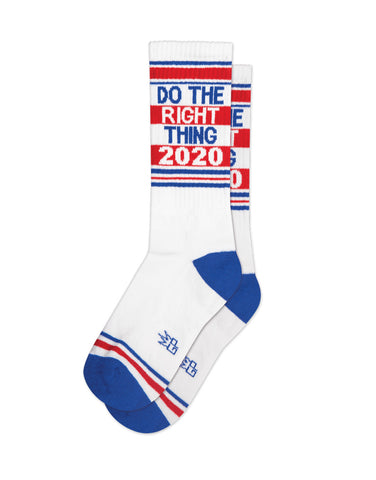 Do the Right Thing 2020 Gym Socks