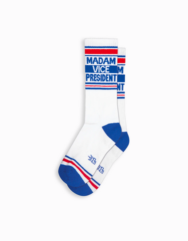 Madame Vice President Gym Socks