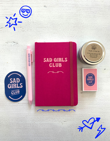 Sad Girls Club Month-Long Program + Welcome Kit