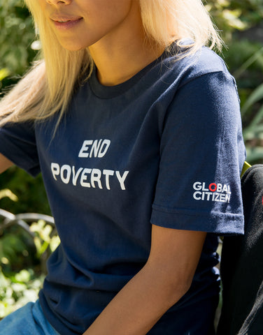 End Poverty Tee