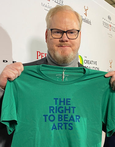 The Right to Bear Arts Tee - Green