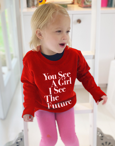 You See A Girl: Toddler Sweatshirt