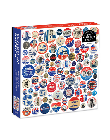 Button Up America 500 Piece Puzzle