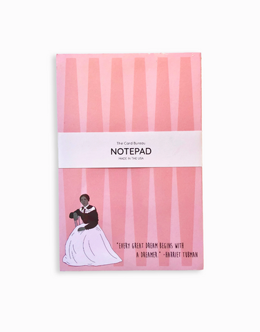 Harriet Tubman Illustrated Notepad