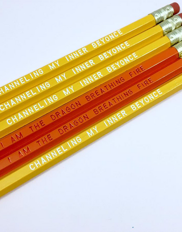 Channeling My Inner Beyonce Pencils