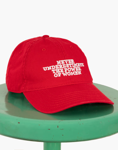 Never Underestimate The Power Of Women Hat