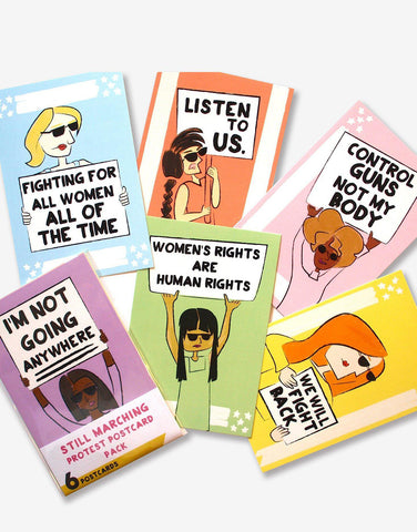 Protest Postcards - Still Marching (6 Pack)