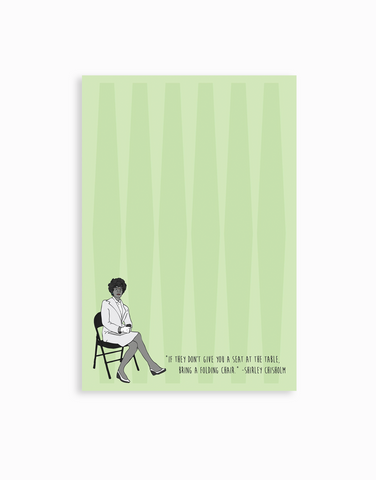 Shirley Chisholm Notepad