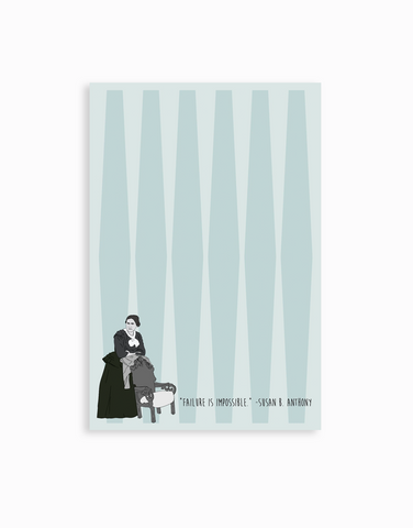 Susan B. Anthony Notepad